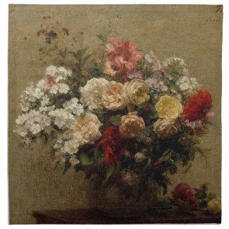 Summer Flowers - realism Napkin