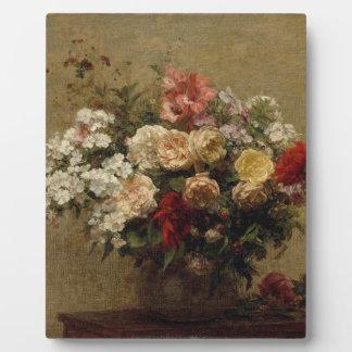 Summer Flowers - realism Plaque