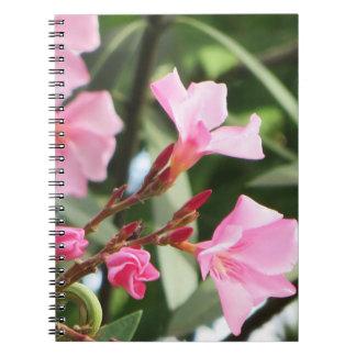 Summer Flowers Spiral Notebooks