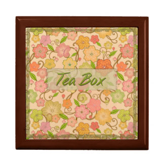 Summer Flowers Tea Box