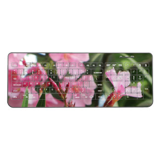 Summer Flowers Wireless Keyboard