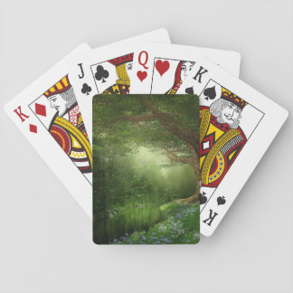 Summer Forest River Playing Cards