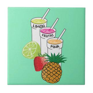 Summer Fruit smoothie Tile