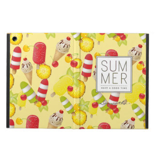 Summer Fruits and Ice-Cream Fun Cover For iPad Air