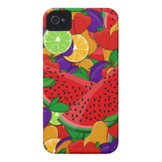 Summer fruits iPhone 4 covers