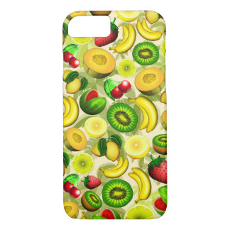 Summer Fruits Juicy Pattern iPhone 7 iPhone 7 Case