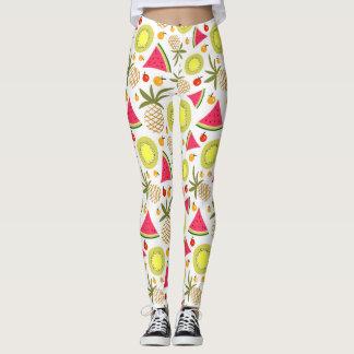 Summer fruits pattern Leggings