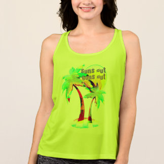 summer fun beach suns out guns out shirt palm tree