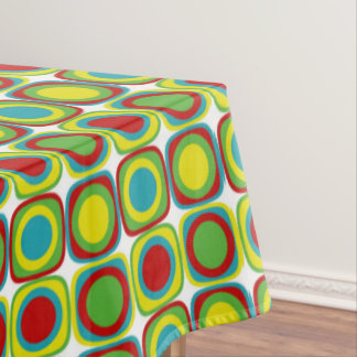 Summer Fun Bright Tiles Tablecloth