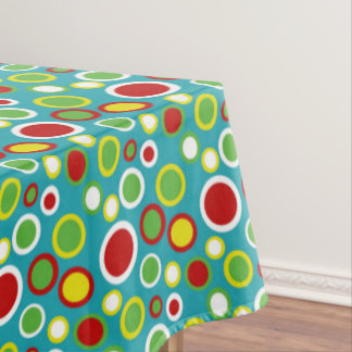 Summer Fun Bubble Dots Tablecloth