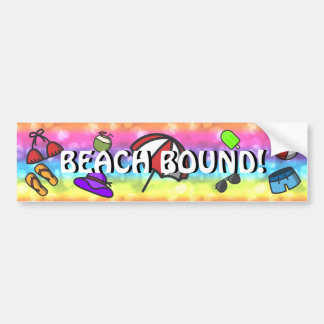 Summer Fun Bumper Sticker