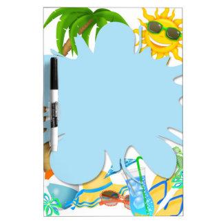 Summer Fun Dry Erase Board