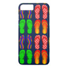 Summer Fun, Flip Flops iPhone 8 Plus/7 Plus Case