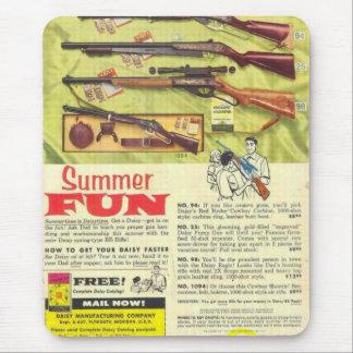 Summer Fun Gun Mouse Pad