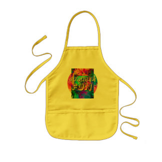 Summer Fun!  Kid's Cotton Twill -All Purpose Apron