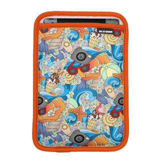 Summer Fun Pattern iPad Mini Sleeve