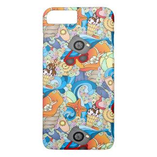 Summer Fun Pattern iPhone 7 Plus Case