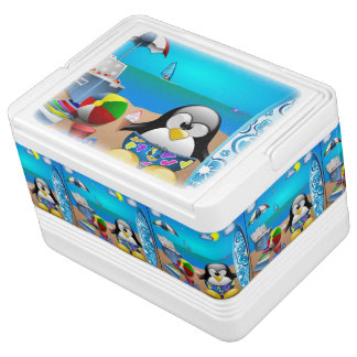 Summer Fun Penguin 12 Can Igloo Cooler