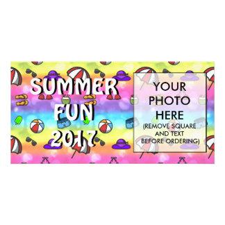 Summer Fun Photo Card