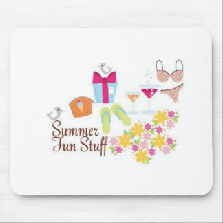 Summer fun stuff mousepads