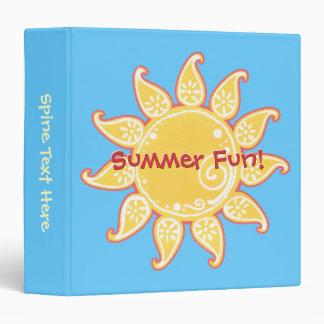 Summer Fun Sun Binder