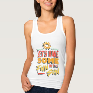summer fun tank top