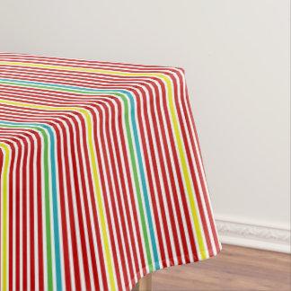 Summer Fun Thin Stripes Tablecloth