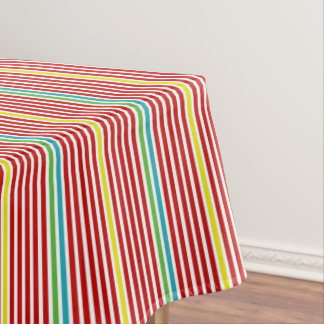 Summer Fun Thin Stripes Tablecloth