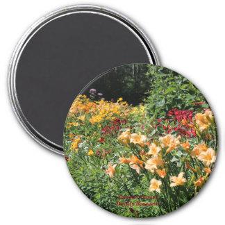 Summer Garden Daylily Bouquets! Magnet