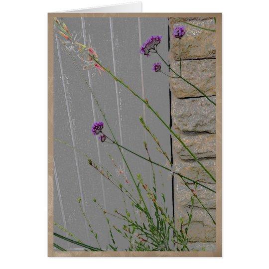 Summer garden flowers #2 card