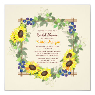 Summer Garden Invitation