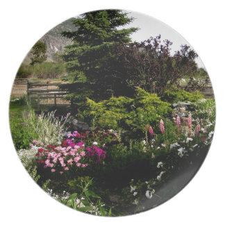 Summer Gardens Plate