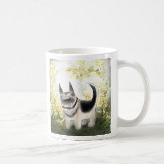 Summer German Shepherd Pup Mug