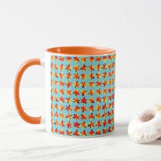 Summer Getaway Flowers Mug
