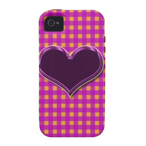 """Summer Gingham checks""cases&skins"".* iPhone 4 Cases"