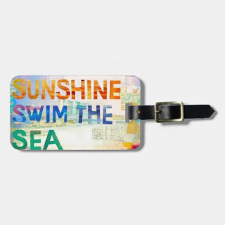 Summer Girl Luggage Tag