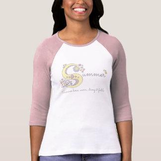 Summer girls S name meaning custom tee