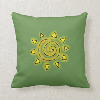 Summer Green Pillow