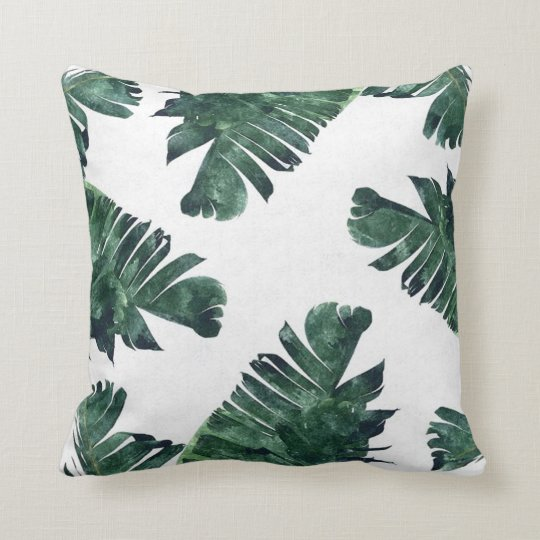 Summer Greenery Pillow