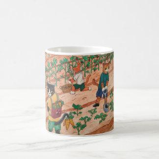 Summer Harvest Cats Coffee Mug