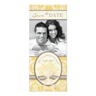 "Summer Harvest SD Tall Card 4"" X 9.25"" Invitation Card"