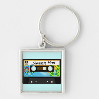 Summer Hits Tape Keychains