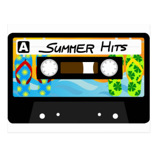 Summer Hits Tape Postcard