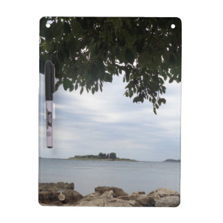 Summer Holiday Mediterranean Sea Photography Dry Erase White Board