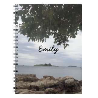 Summer Holiday Mediterranean Sea Photography Notebook