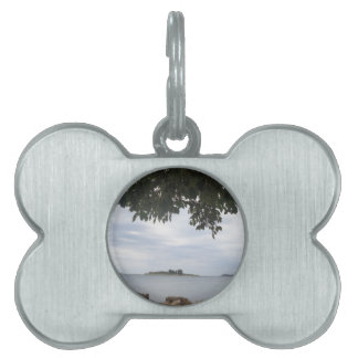 Summer Holiday Mediterranean Sea Photography Pet Tag