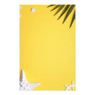 Summer Holiday Vacation Background Stationery