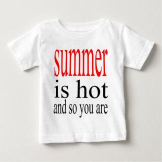 summer hot flirt love sweat couple boyfriend girlf baby T-Shirt