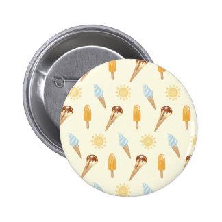 Summer ice cream 2 inch round button