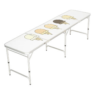 Summer Ice cream cones ping pong table
